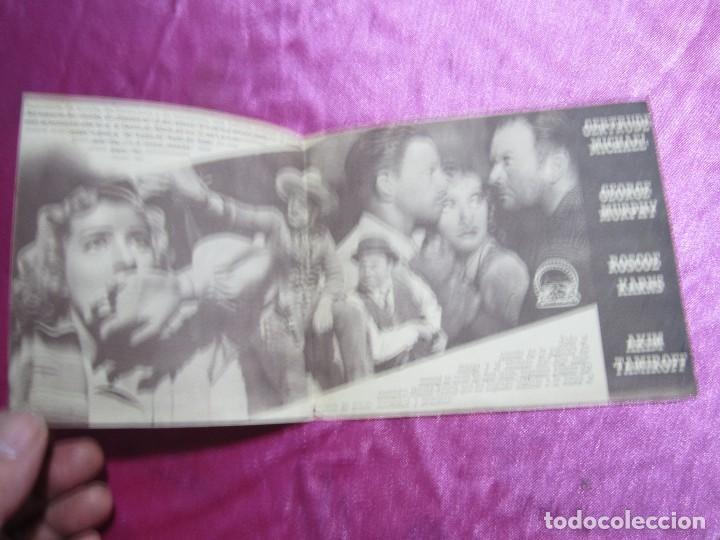 Cine: COGIDO EN LA TRAMPA PROGRAMA DE CINE DOBLE CINE POMBO MIERES C2 - Foto 5 - 105547371