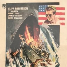 Cine: PATRULLERO PT 109- CINE PRINCIPAL (CINE BOLET) 2 Y 3 MAYO DE 1964. VILAFRANCA DEL PENEDÉS. Lote 105608723