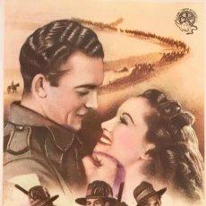 Cine: LA CARGA DE LOS 40.000 JINETES - CINE AMÉRICA (CASTELLFULLIT DE LA ROCA) 2 DE MAYO DE1948. Lote 105646139