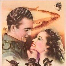 Cine: LA CARGA DE LOS 40.000 JINETES - CINE EMPORIUM- CALLE INDEPENDENCIA 238-BARCELONA NOVIEMBRE DE 1946. Lote 105646195
