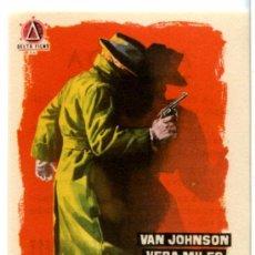 Cine: A 23 PASOS DE BAKER STREET1956 (FOLLETO DE MANO ORIGINAL CON PUBLICIDAD CINE AVENIDA. Lote 105660467