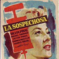 Cine: LA SOSPECHOSA. Lote 105775527