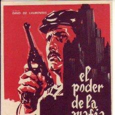Cine: EL PODER DE LA MAFIA. Lote 105775975
