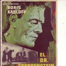 Cine: EL DR. FRANKENSTEIN. Lote 105776895