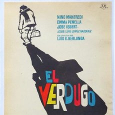 Cine: EL VERDUGO, CON V NINO MANFREDI, DE LUIS GARCIA BERLANGA. Lote 105854383