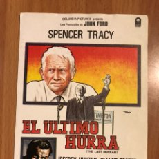 Cine: PROGRAMA SPENCER TRACY.EL ÚLTIMO HURRA. Lote 105945036
