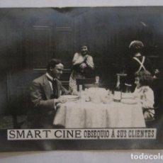 Cine: SMART CINE OBSEQUIO A SUS CLIENTES-TARJETA PUBLICIDAD CALZADOS -VER FOTOS-(C-4094). Lote 105997911