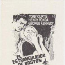 Cine: EL ESTRANGULADOR DE BOSTON. Lote 106018463