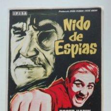 Cine: NIDO ESPÍAS CON ROGER HANIN CHARLES VANE. Lote 106147026
