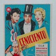 Cine: EL CENICIENTO CON GILA DIRECTOR JUAN LLADÓ SIN PUBLICIDAD. Lote 214434867