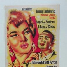 Cine: LAS ESTRELLAS CON TONY LEBLANC Y MARÍA DEL SOL ARCE DIRECTOR M LLUG. Lote 214434900