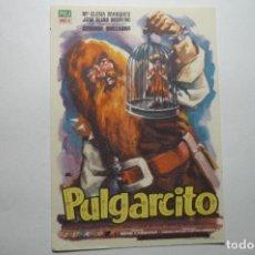 Cine: PROGRAMA PULGARCITO - PUBLICIDAD. Lote 106792267