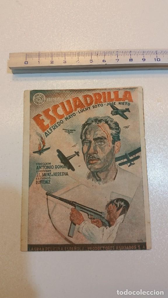 ESCUADRILLA, TEATRO MENACHO, HÉRCULES FILM. LUCHY SOTO... (Cine - Folletos de Mano - Acción)