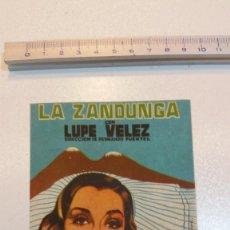 Cine: LA ZANDUNGA. Lote 107115679