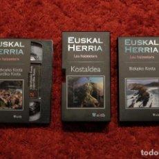Cine: LAU HAIZETARA VIDEO VHS DOBLE. PROGRAMA DE ETB. Lote 107197967