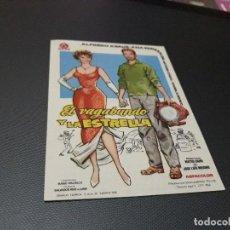 Cine: PROGRAMA DE MANO ORIGIN - EL VAGABUNDO Y LA ESTRELLA - ( CON PUBLIC CINE DE ALCOY 1962 ) . Lote 107714723