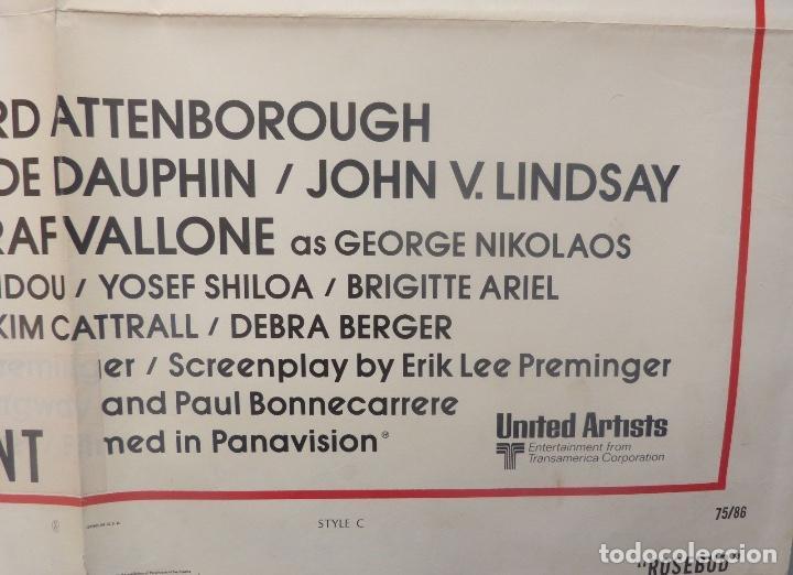 Cine: Rosebud movie poster ( An otto preminger film ) Style C/One sheet/1974? - Foto 4 - 107854587