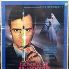 Cine: ORIGINALES DE CINE: LA NOVIA DE RE-ANIMATOR. Lote 108139567