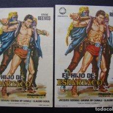 Cine: EL HIJO DE ESPARTACO, STEVE REEVES, VARIANTE. Lote 108302027