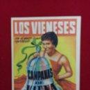 Cine: C-18.- PROGRAMA DEL ESPECTACULO LOS VIENESES, CAMPANAS DE VIENA .- 1957.- KAPS Y JOHAM. Lote 108360999