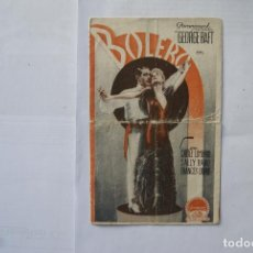 Cine: BOLERO SALLY RANO DOBLE CON CINE AÑOS 30 B25. Lote 108716871