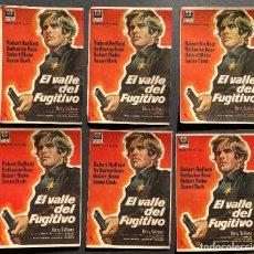 Cine: 13 PROGRAMAS EL VALLE DEL FUGITIVO - ROBERT REDFORD, KATHARINE ROSS - VALENCIA. Lote 108980175