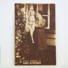 Cine: PROGRAMA DE CINE / TARJETA FOTOGRAMA - ANNY SE DIVIERTE - CON PUBLICIDAD - CINNAMOND, AÑO 1934. Lote 109012671