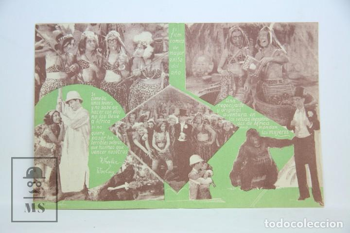 Cine: Programa de Cine Doble - Atrapándolos Como Pueden - Con Publicidad - Columbia - Año 1934 - Foto 2 - 109014875