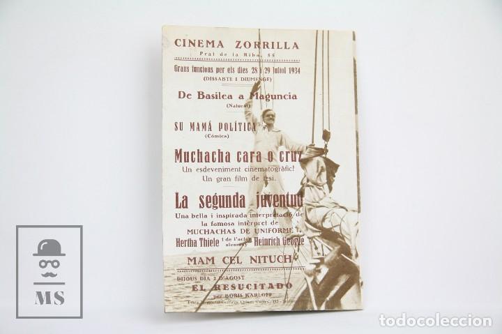 Cine: Programa de Cine Doble - La segunda Juventud / Hertha Thiele - Con Publicidad - Cinaes - Año 1934 - Foto 3 - 109015599