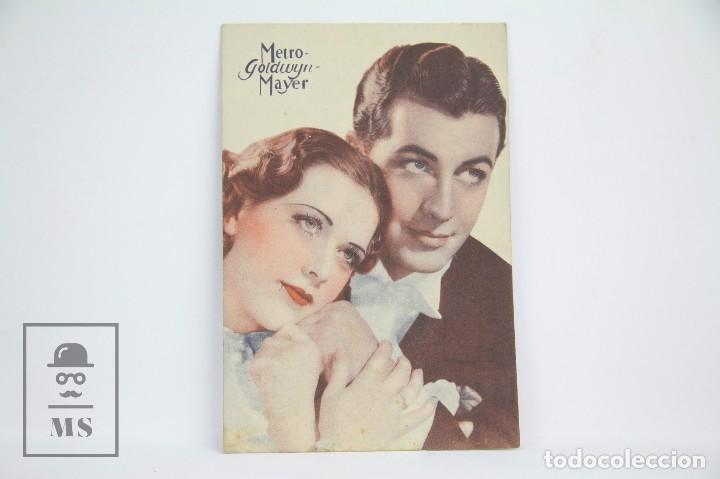 Cine: Programa de Cine Doble - La Melodía De Broadway 1936 - Con Publicidad - Metro Goldwyn - Año 1936 - Foto 3 - 109015839