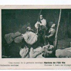 Cine: PROGRAMA TARJETA MARIETA DE L'ULL VIU. Lote 109284695