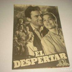Cine: EL DESPERTAR, GREGORY PECK , PROGRAMA DOBLE, SIN PUBLICIDAD. Lote 109291667