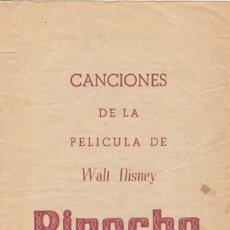 Cine: PINOCHO. Lote 109397951