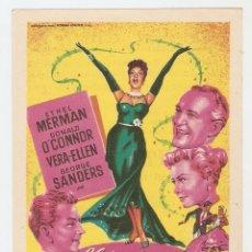 Cine: LLÁMAME SEÑORA - ETHEL MERMAN, DONALD O'CONNOR, VERA-HELLEN, GEORGE SANDERS - DIRECTOR WALTER LANG. Lote 109430947