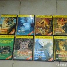 Cine: NATIONAL GEOGRAPHIC DVD, LOTE 8 DVD. PERFECTO ESTADO. ENVIO GRATIS.. Lote 109462495