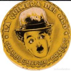 Cine: PROGRAMA DE CINE .- LA QUIMERA DEL ORO CON CHARLIE CHAPLIN -1944-. Lote 109601507