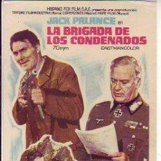 Cine: LA BRIGADA DE LOS CONDENADOS. Lote 109722551