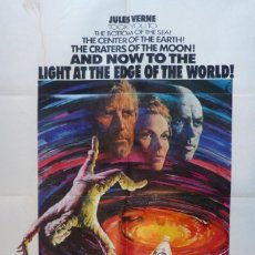 Cine: THE LIGHT AT THE EDGE OF THE WORLD MOVIE POSTER,1971,1 SHEET.. Lote 109975691