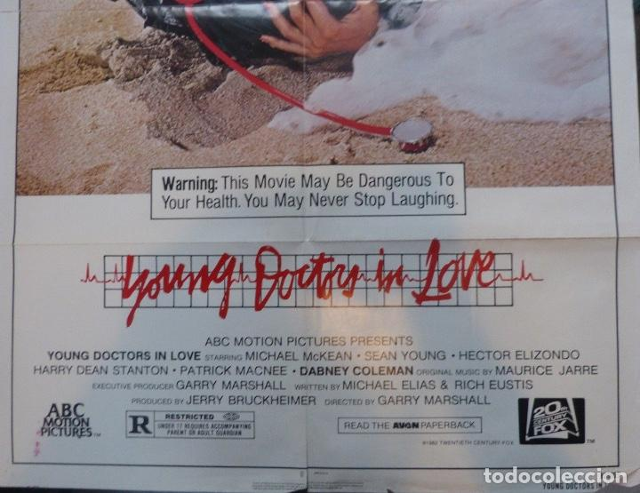 Cine: Young doctor in love movie poster,1982,twentieth century-Fox. - Foto 2 - 109986395