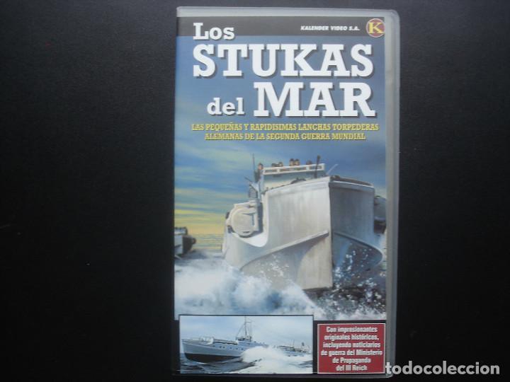 VHS LOS STUKAS DEL MAR. KRIEGSMARINE. KALENDER VIDEO (Cine - Folletos de Mano - Documentales)