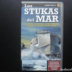 Cine: VHS LOS STUKAS DEL MAR. KRIEGSMARINE. KALENDER VIDEO. Lote 110016711