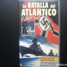 Cine: VHS LA BATALLA DEL ATLANTICO. KRIEGSMARINE. KALENDER VIDEO. Lote 110016899