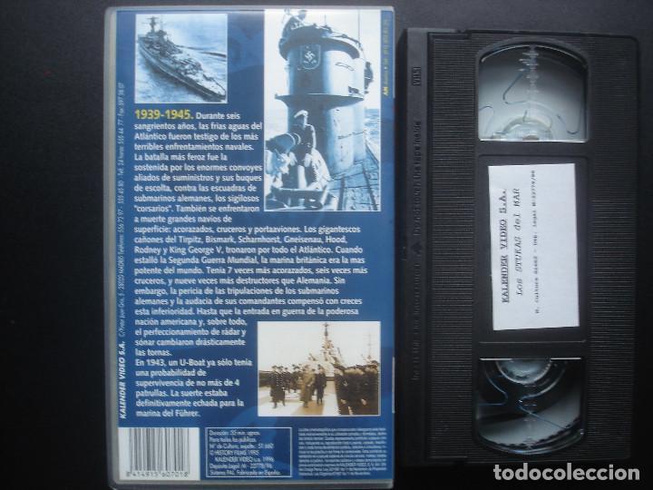 Cine: VHS La batalla del Atlantico. Kriegsmarine. Kalender Video - Foto 2 - 110016899