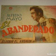 Cine: EL ABANDERADO , ALFREDO MAYO, PROGRAMA DOBLE. Lote 110116183