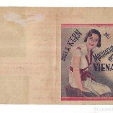 Cine: PROGRAMA DE CINE DOBLE. MUCHACHAS DE VIENA. S/P. ADELA KERN. VER. Lote 110177143