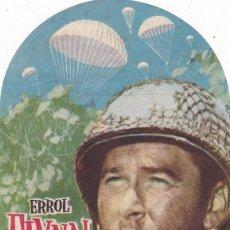 Cine: OBJETIVO BIRMANIA CON ERROL FLYNN CINE TEATRO PRINCIPAL CINEMA LA RAMBLA AÑO 1952. Lote 110244719