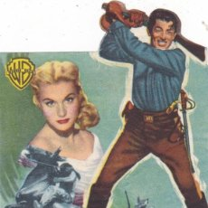 Cine: SÓLO EL VALIENTE CON GREGORY PECK AÑO 1952 CINEMA LA RAMBLA Y PRINCIPAL. Lote 110394707