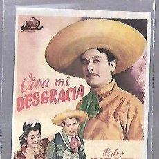 Cinema - PROGRAMA DE CINE. S/P. VIVA MI DESGRACIA. PEDRO INFANTE - 110520375