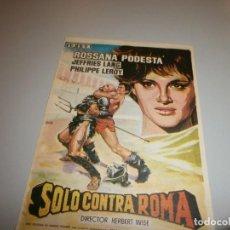 Cine: FOLLETO DE MANO PROGRAMA DE CINE. Lote 110655367