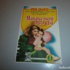 Cine: FOLLETO DE MANO PROGRAMA DE CINE. Lote 110656543